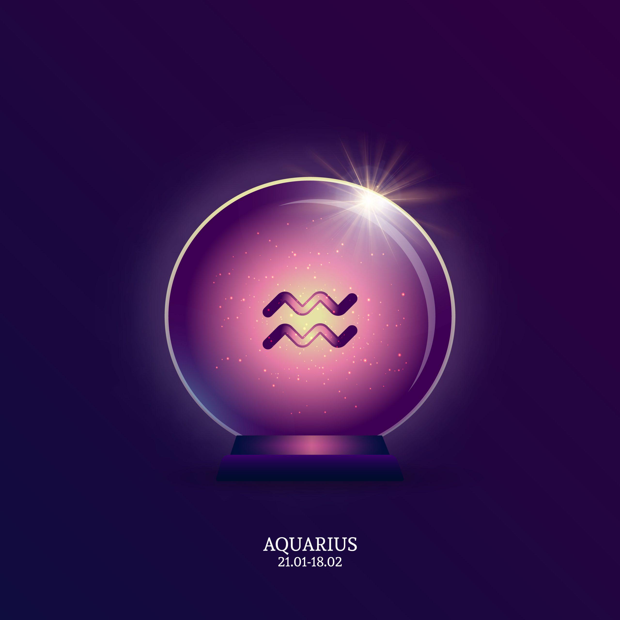 Aquarius zodiac astrology sign crystals for Aquarius